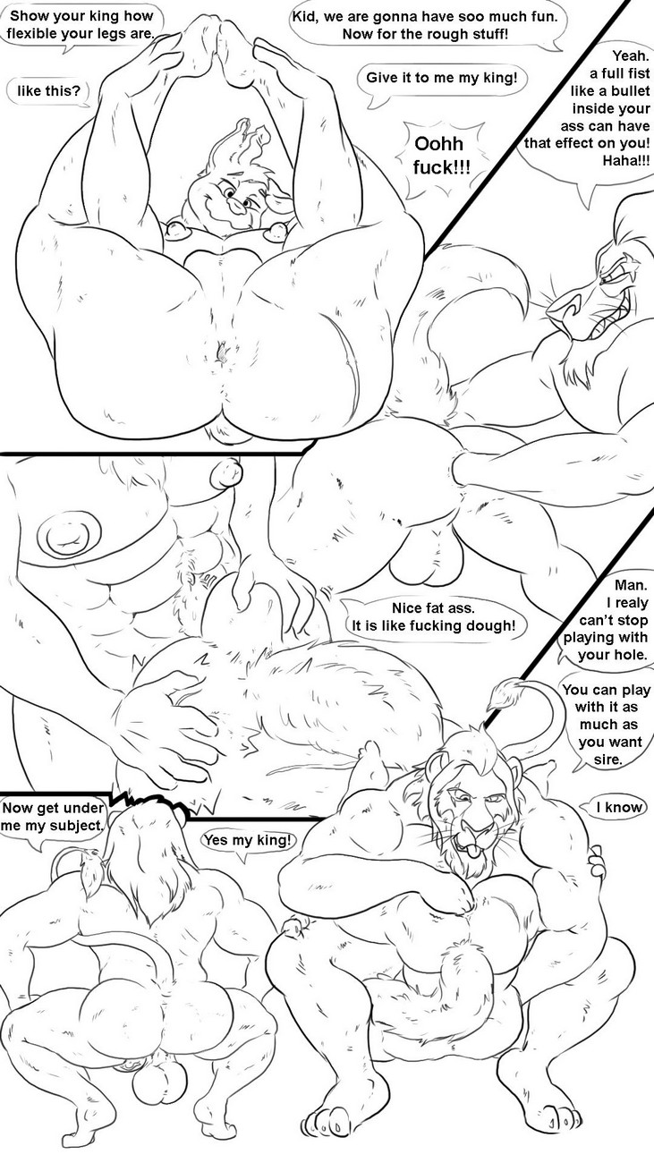 A Big Tip gay furry comic