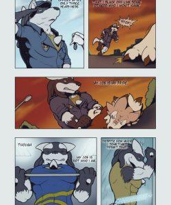 A Darker Shade Of Life 1 003 and Gay furries comics