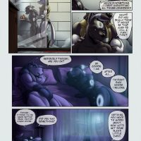 A Darker Shade Of Life 1 gay furry comic