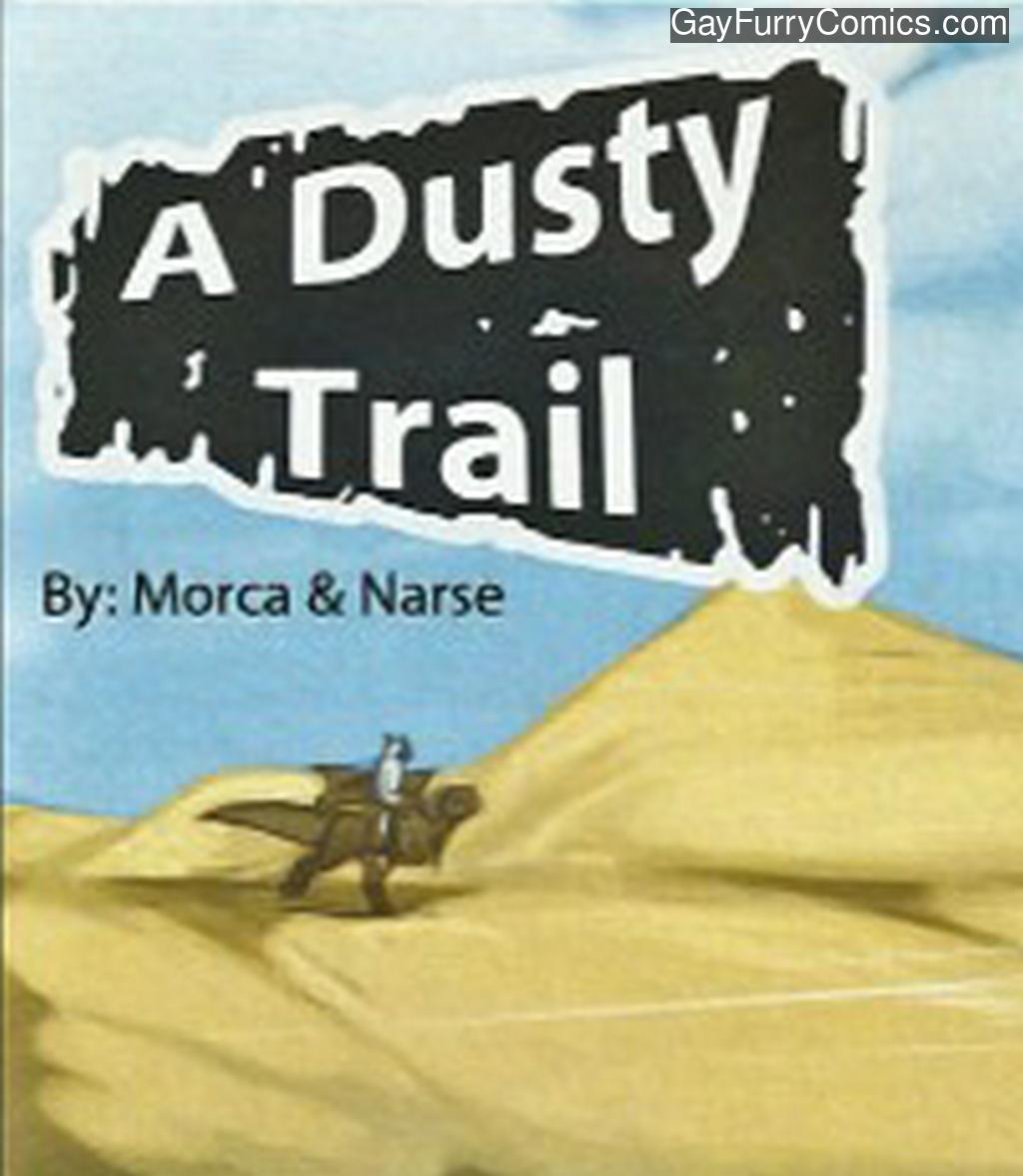 A Dusty Trail gay furry comic