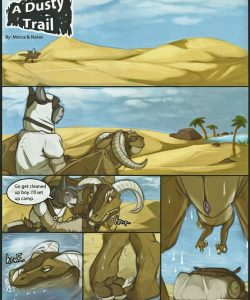 A Dusty Trail 002 and Gay furries comics