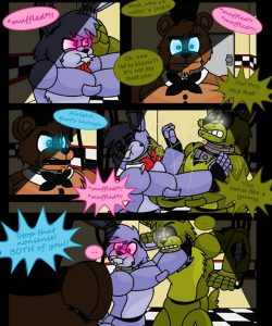 A Fronnie Forever 017 and Gay furries comics