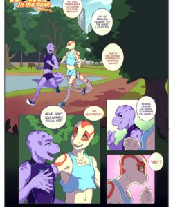 A Lay In The Park 001 and Gay furries comics