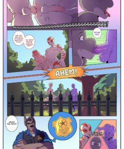 A Lay In The Park 008 and Gay furries comics