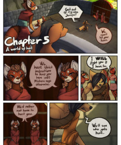 A Tale Of Tails 5 - A World Of Hurt 001 and Gay furries comics