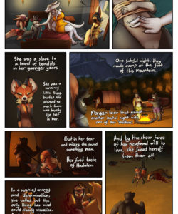 A Tale Of Tails 5 - A World Of Hurt 010 and Gay furries comics