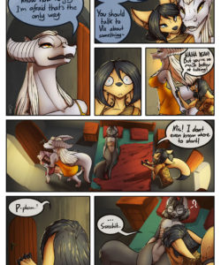 A Tale Of Tails 5 - A World Of Hurt 012 and Gay furries comics