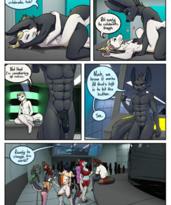 A Tale Of Tails 5 - A World Of Hurt 034 and Gay furries comics