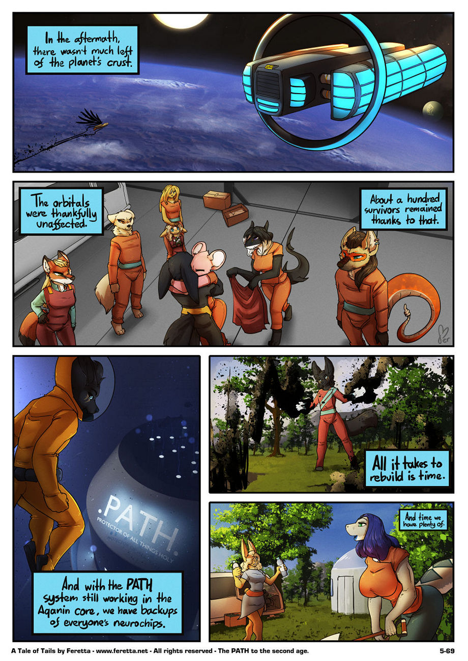 A Tale Of Tails 5 – A World Of Hurt gay furry comic