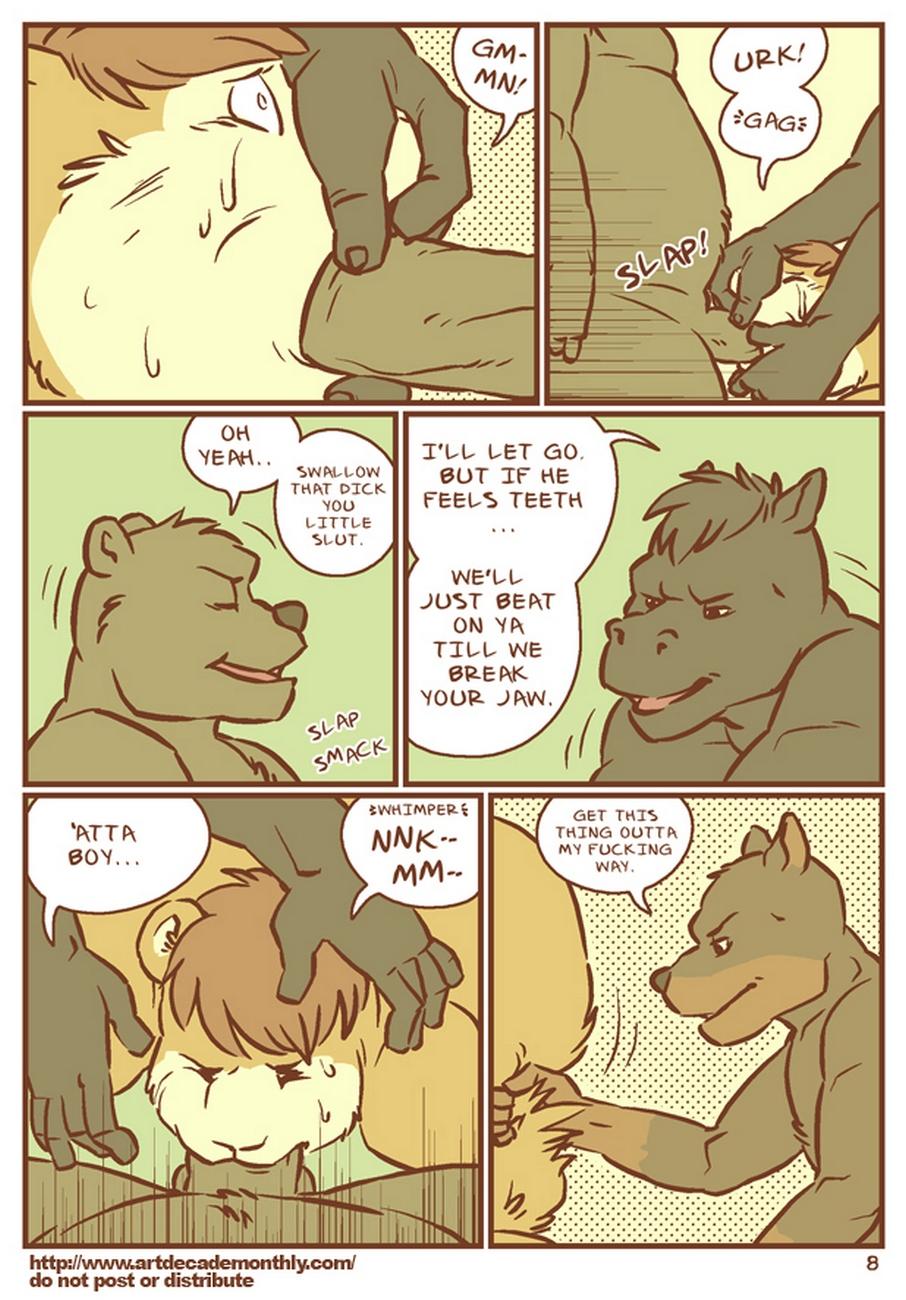Abe Rape gay furry comic