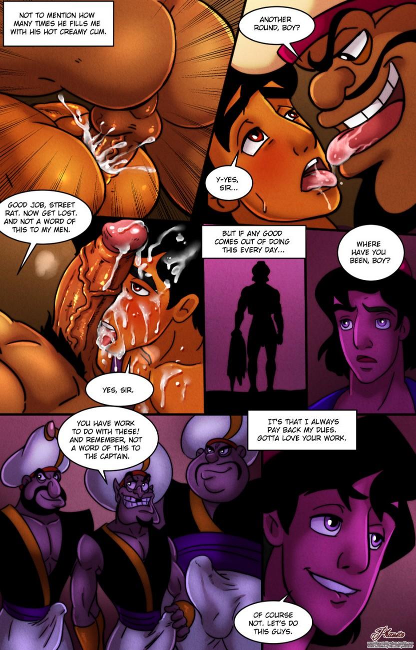 Agrabah Taxes gay furry comic