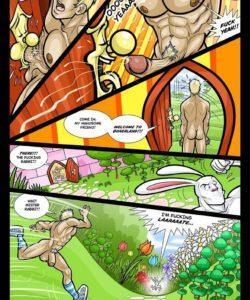 Alex In Bonerland 008 and Gay furries comics