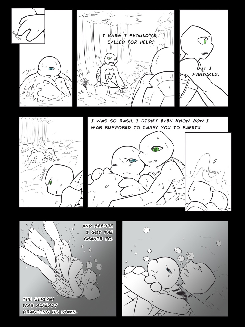 Alleviate gay furry comic