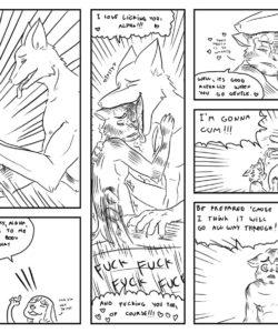 Alpha 3 013 and Gay furries comics
