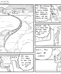 Alpha 4 002 and Gay furries comics