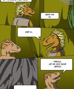 Alpha Raptor 002 and Gay furries comics