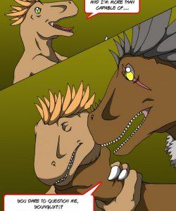 Alpha Raptor 004 and Gay furries comics