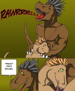 Alpha Raptor 012 and Gay furries comics