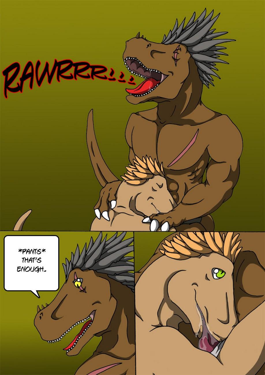 Alpha Raptor gay furry comic