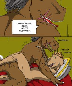 Alpha Raptor 025 and Gay furries comics