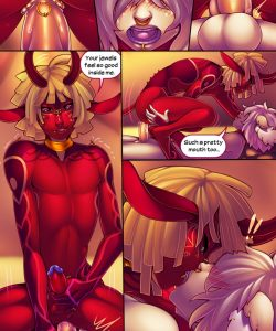 Altar 014 and Gay furries comics