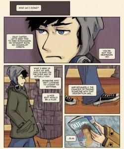 Always Raining Here 012 and Gay furries comics