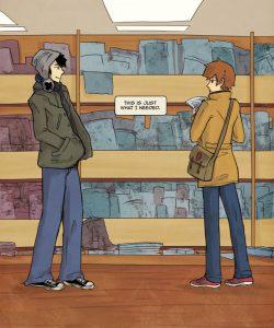 Always Raining Here 014 and Gay furries comics