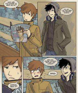 Always Raining Here 017 and Gay furries comics