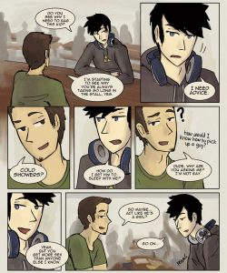Always Raining Here 022 and Gay furries comics