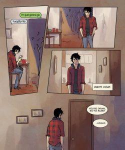 Always Raining Here 054 and Gay furries comics