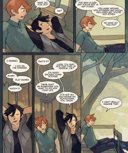 Always Raining Here 114 and Gay furries comics