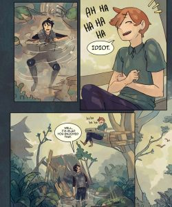 Always Raining Here 118 and Gay furries comics