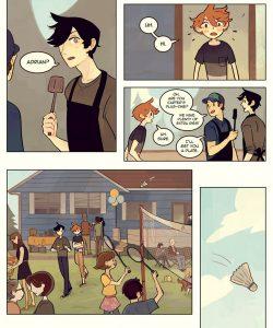 Always Raining Here 204 and Gay furries comics