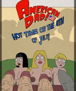 American Dad - Hot Times On The 4th Of July! 001 and Gay furries comics