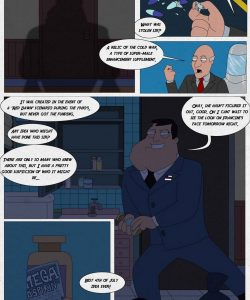 American Dad – Hot Times On The 4th Of July! gay furry comic