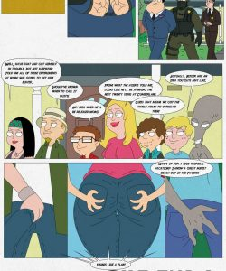 American Dad - Hot Times On The 4th Of July! 023 and Gay furries comics