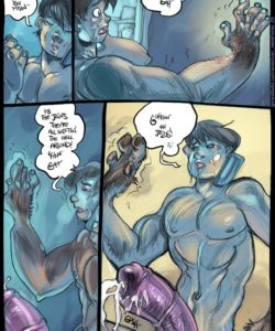 American Werehorse 005 and Gay furries comics