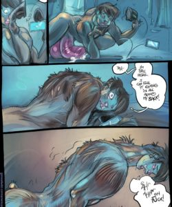 American Werehorse 007 and Gay furries comics