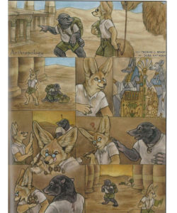 Anthropology 001 and Gay furries comics
