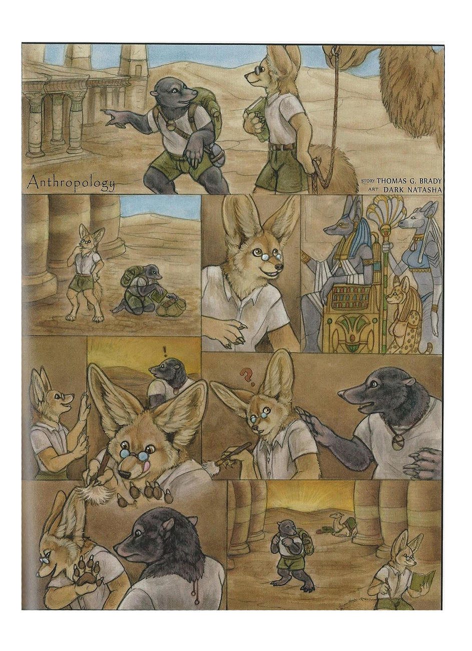 Anthropology gay furry comic