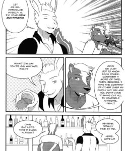 Anton's New Love On The Airship 017 and Gay furries comics