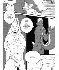 Anton's New Love On The Airship 027 and Gay furries comics