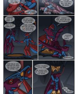Aran's Ant Adventure 006 and Gay furries comics