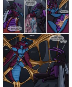Aran's Ant Adventure 008 and Gay furries comics