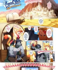Arcana Tales 2 - The Alchemist And The Beast 002 and Gay furries comics