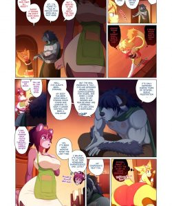 Arcana Tales 2 - The Alchemist And The Beast 005 and Gay furries comics