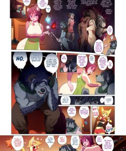 Arcana Tales 2 - The Alchemist And The Beast 006 and Gay furries comics
