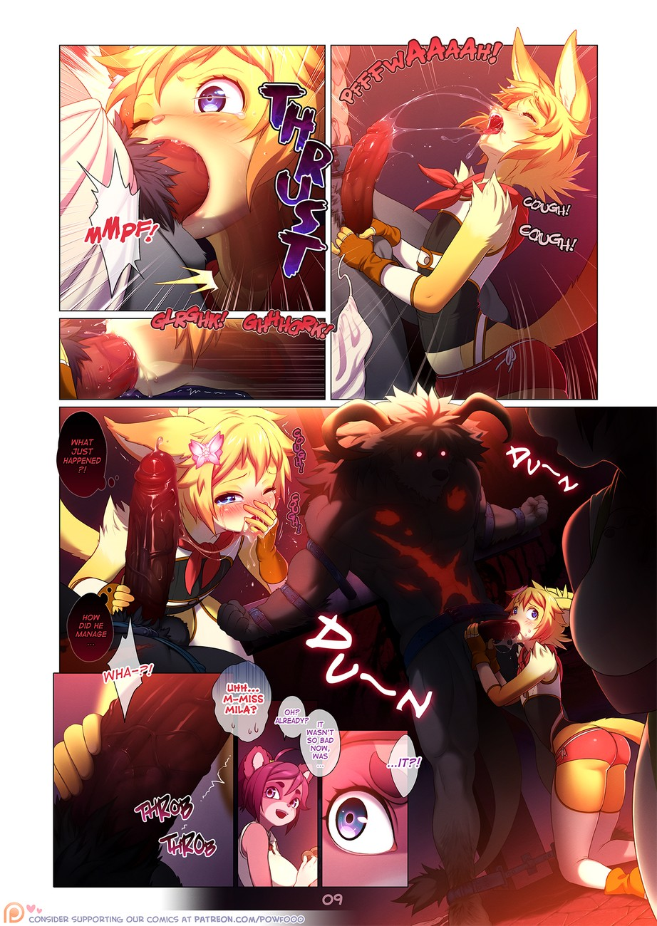Arcana Tales 2 – The Alchemist And The Beast gay furry comic