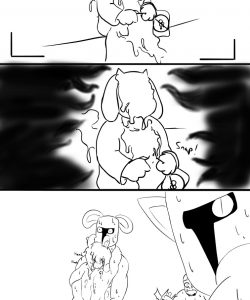 Asriel's Not Gay 008 and Gay furries comics
