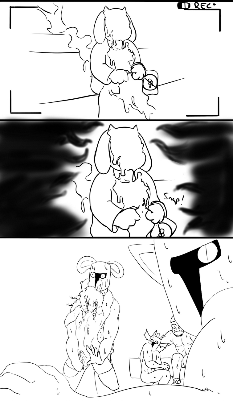 Asriel's Not Gay gay furry comic